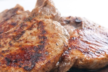 Apple Cider Pork Loin Steak