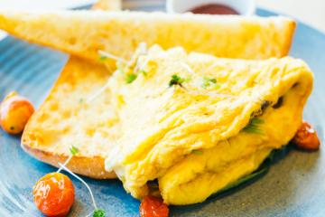 Ham Breakfast Omelette